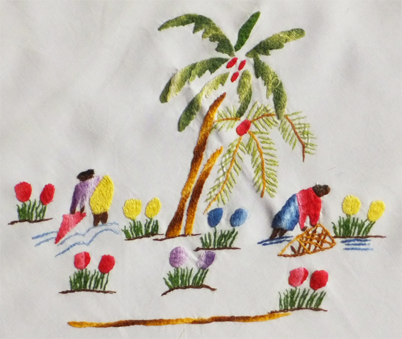 Broderie malgache
