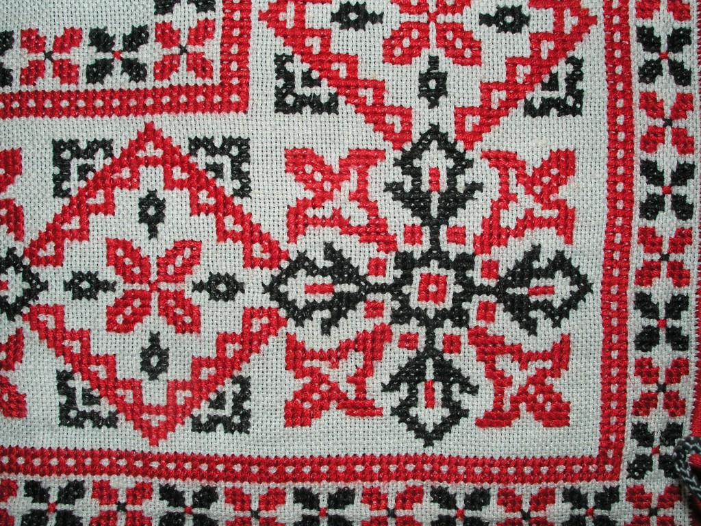 angle d'une nappe au point de croix