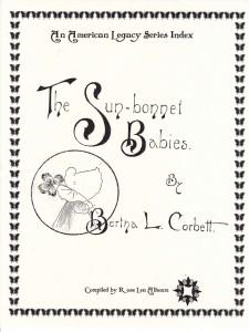 Sunbonnet Babies Cover
