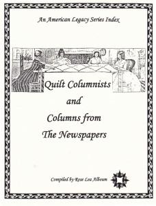 quilt columnists
