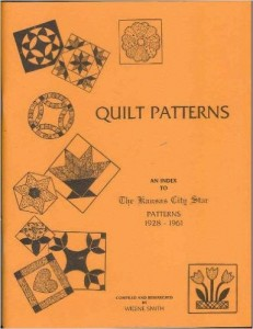 quilt pattern an index of the KC patterns