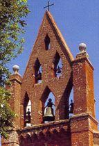 Montclar Lauragais, le clocher mur