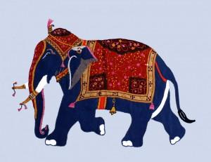 éléphant de la reine