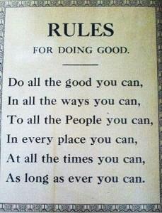 Amish Rules