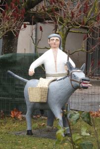 le meunier et son âne