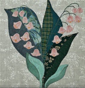 http://quilting.craftgossip.com/free-quilt-block-lily-of-the-valley